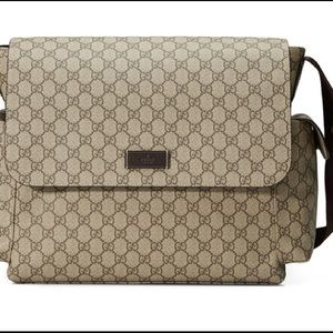 Authentic Used Gucci diaper bag w. dustbag.
